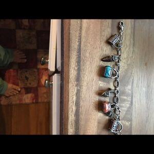 Brighton Jewelry - Brighton handbag & shoes bracelet